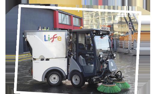 Hako Cleaning Machine For Customer
