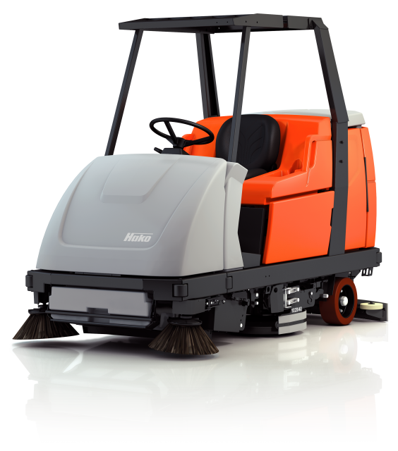 Hako Scrubmaster B70 Scrubber: Shopping Centre Cleaning Machines