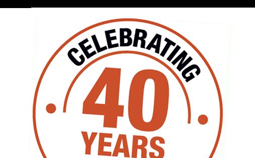 Hako 40 Years Logo